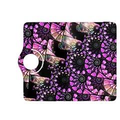 Hippy Fractal Spiral Stacks Kindle Fire HDX 8.9  Flip 360 Case