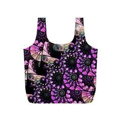 Hippy Fractal Spiral Stacks Reusable Bag (S)