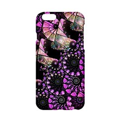 Hippy Fractal Spiral Stacks Apple iPhone 6 Hardshell Case