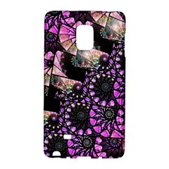 Hippy Fractal Spiral Stacks Samsung Galaxy Note Edge Hardshell Case