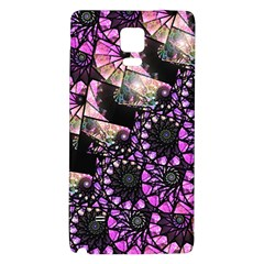 Hippy Fractal Spiral Stacks Samsung Note 4 Hardshell Back Case