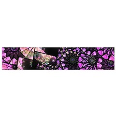Hippy Fractal Spiral Stacks Flano Scarf (Small)