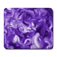 Lavender Smoke Swirls Large Mouse Pad (rectangle)