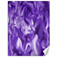 Lavender Smoke Swirls Canvas 36  X 48  (unframed)