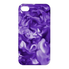 Lavender Smoke Swirls Apple Iphone 4/4s Hardshell Case