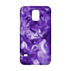 Lavender Smoke Swirls Samsung Galaxy S5 Hardshell Case