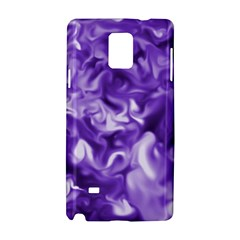 Lavender Smoke Swirls Samsung Galaxy Note 4 Hardshell Case