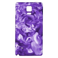 Lavender Smoke Swirls Samsung Note 4 Hardshell Back Case