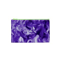 Lavender Smoke Swirls Cosmetic Bag (XS)