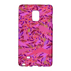 Bright Pink Confetti Storm Samsung Galaxy Note Edge Hardshell Case
