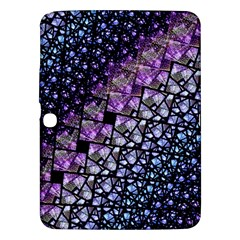 Dusk Blue And Purple Fractal Samsung Galaxy Tab 3 (10 1 ) P5200 Hardshell Case