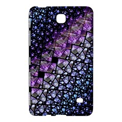 Dusk Blue and Purple Fractal Samsung Galaxy Tab 4 (7 ) Hardshell Case