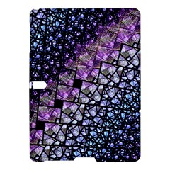 Dusk Blue And Purple Fractal Samsung Galaxy Tab S (10 5 ) Hardshell Case