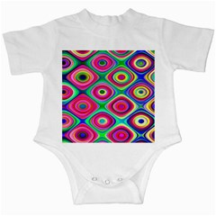Psychedelic Checker Board Infant Bodysuit