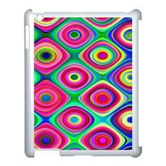 Psychedelic Checker Board Apple Ipad 3/4 Case (white)