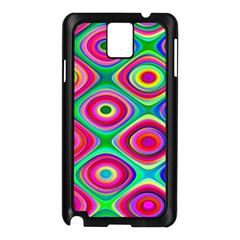 Psychedelic Checker Board Samsung Galaxy Note 3 N9005 Case (black)