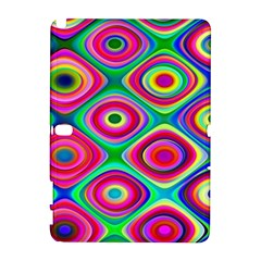 Psychedelic Checker Board Samsung Galaxy Note 10.1 (P600) Hardshell Case