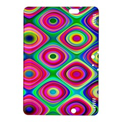 Psychedelic Checker Board Kindle Fire HDX 8.9  Hardshell Case