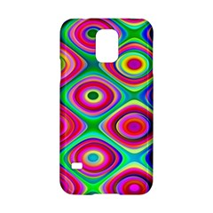 Psychedelic Checker Board Samsung Galaxy S5 Hardshell Case