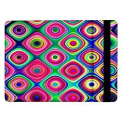 Psychedelic Checker Board Samsung Galaxy Tab Pro 12.2  Flip Case
