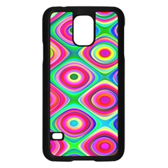 Psychedelic Checker Board Samsung Galaxy S5 Case (black)