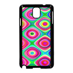 Psychedelic Checker Board Samsung Galaxy Note 3 Neo Hardshell Case (Black)