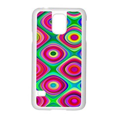 Psychedelic Checker Board Samsung Galaxy S5 Case (White)
