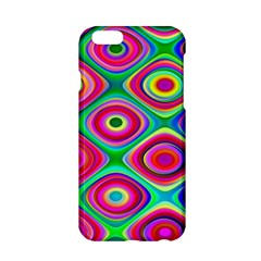 Psychedelic Checker Board Apple iPhone 6 Hardshell Case