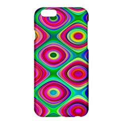 Psychedelic Checker Board Apple iPhone 6 Plus Hardshell Case