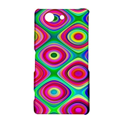 Psychedelic Checker Board Sony Xperia Z3 Compact Hardshell Case