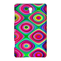 Psychedelic Checker Board Samsung Galaxy Tab S (8.4 ) Hardshell Case