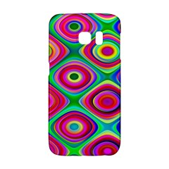 Psychedelic Checker Board Samsung Galaxy S6 Edge Hardshell Case
