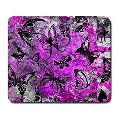 Butterfly Graffiti Large Mouse Pad (rectangle)
