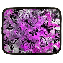 Butterfly Graffiti Netbook Sleeve (large)