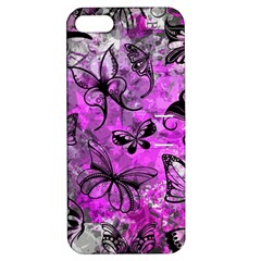 Butterfly Graffiti Apple Iphone 5 Hardshell Case With Stand