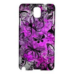 Butterfly Graffiti Samsung Galaxy Note 3 N9005 Hardshell Case