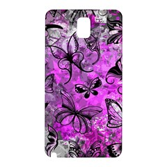Butterfly Graffiti Samsung Galaxy Note 3 N9005 Hardshell Back Case
