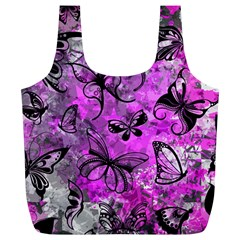 Butterfly Graffiti Reusable Bag (xl)