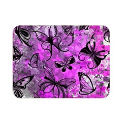 Butterfly Graffiti Double Sided Flano Blanket (mini)