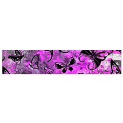Butterfly Graffiti Flano Scarf (Small)