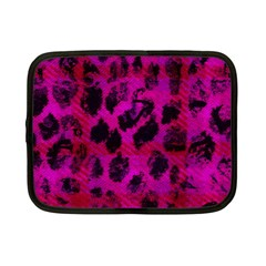Pink Leopard Netbook Sleeve (small)