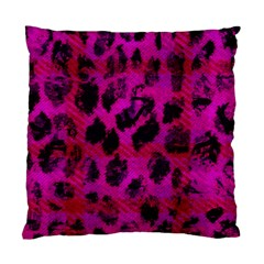 Pink Leopard Cushion Case (two Sided)