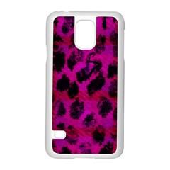 Pink Leopard Samsung Galaxy S5 Case (white)