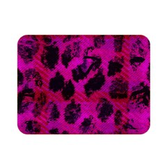 Pink Leopard Double Sided Flano Blanket (Mini)