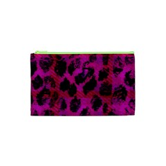 Pink Leopard Cosmetic Bag (XS)