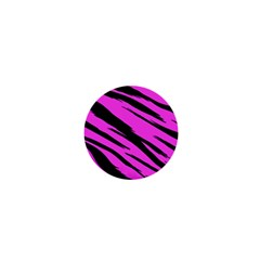 Pink Tiger 1  Mini Button