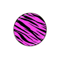 Pink Tiger Golf Ball Marker (for Hat Clip)