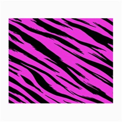 Pink Tiger Glasses Cloth (small, Two Sided)