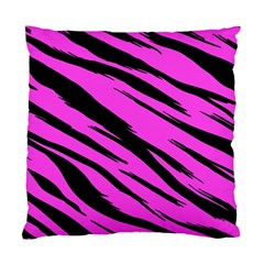 Pink Tiger Cushion Case (two Sided)