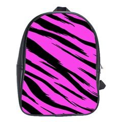 Pink Tiger School Bag (large)
